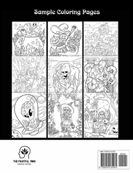 100 Halloween Coloring Pages - Coloring Book Cafe