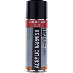 Amsterdam Acrylic Varnish Satin 116 Spray Can 400 ml