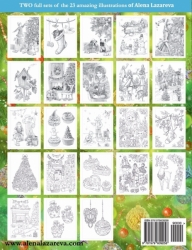 Winter Wonderland - Christmas coloring book  - Alena Lazareva