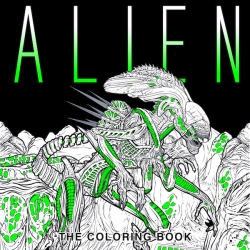 ALIEN Coloring book - Vetřelec