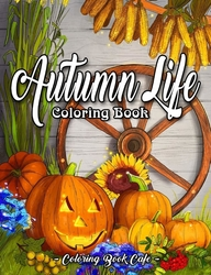Autumn Life - Coloring Book Cafe