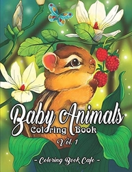 Baby Animals - Coloring Book Cafe