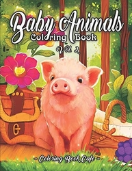 Baby Animals 2 - Coloring Book Cafe