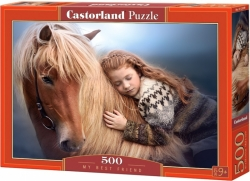 Castorland PUZZLE My best friend 500 dílků