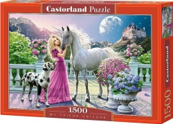 Castorland PUZZLE My friend unicorn 1500 dílků