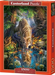 Castorland PUZZLE Wolf in the wild 1500 dílků