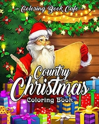 Country Christmas - Coloring Book Cafe
