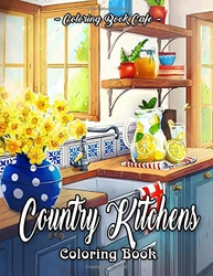 Country Kitchens - Coloring Book Cafe