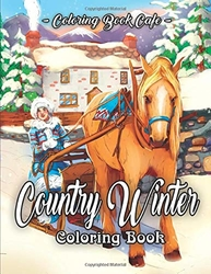 Country Winter - Coloring Book Cafe