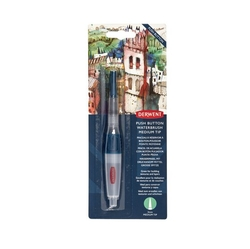 DERWENT Push Button Waterbrush - plnitelný štětec - MEDIUM - č.2