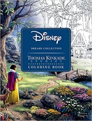 Disney Dreams Collection Coloring Book - Thomas Kinkade