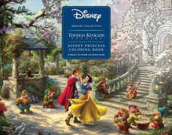 Disney Princess Coloring Book Ready to frame - Thomas Kinkade