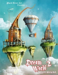 Dream World 2 Grayscale Coloring Book - Karlon Dougles
