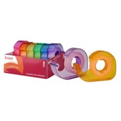 Eagle Rainbow Tape Dispenser - barevné pásky - 6 ks