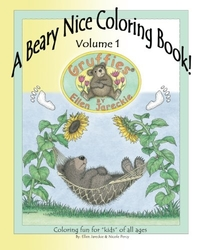 A Beary Nice Coloring Book Vol. 1 - Ellen C. Jareckie