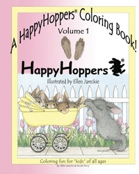 A Happy Hoppers Coloring Book - Ellen C. Jareckie