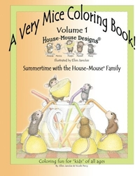 A Very Mice Coloring Book Vol. 1 - Ellen C. Jareckie - SUMMERTIME