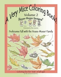 A Very Mice Coloring Book Vol. 2 - Ellen C. Jareckie - FALL (AUTUMN)