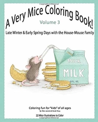 A Very Mice Coloring Book Vol. 3 - Ellen C. Jareckie - WINTER & SPRING