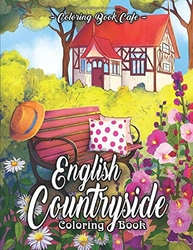 English Countryside Coloring Book - Coloring Book Cafe