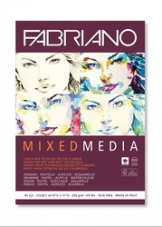 FABRIANO Mixed Media - (250 g/m2, 40 listů) - A4