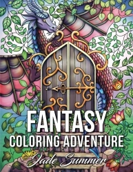 Fantasy Coloring Adventure - Jade Summer