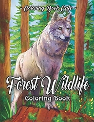 Forest Wildlife - Coloring Book Cafe