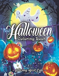 Halloween Coloring Book - Coloring Book Cafe