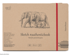 SM-LT Sketch authenticbook - Natural brown - 80 g/m2