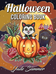 Halloween Coloring Book - Jade Summer