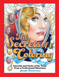 The Secrets of Coloring - Jennifer Zimmermann