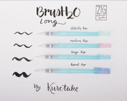 Kuretake BrusH2O Waterbrush - plnitelný štetec - MEDIUM