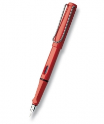 LAMY Safari plnicí pero - hrot M - SHINY RED