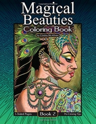 Magical Beauties 2 - Cristina McAllister - coloring book