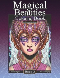 Magical Beauties 3 - Cristina McAllister - coloring book
