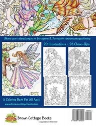 Magical Fantasy Coloring book - Annie Brown