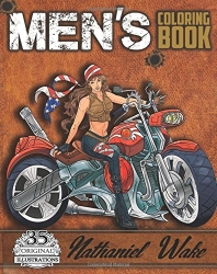 Men's Coloring Book - Nathaniel Wake