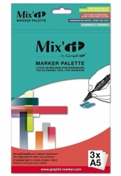 Graph'it Mix'it paleta - Marker palette - A5 - 3 ks