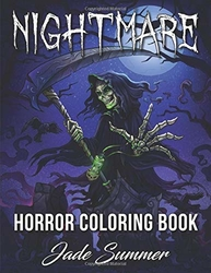 Nightmare - A Horror Coloring Book - Jade Summer