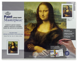 Paint your own MASTERPIECE - MONA LISA - malování na plátno - LEONARDO daVINCI