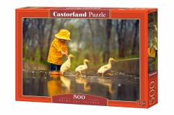 Castorland PUZZLE Rainy Day Friends 500 dílků