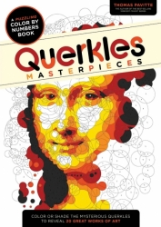 Querkles Masterpieces - Colour by numbers - Thomas Pavitte