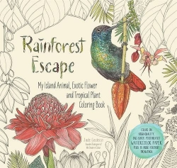 Rainforest Escape - Colouring Book