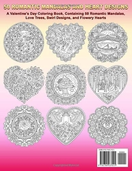 50 Romantic Mandalas and Heart Designs - Kameliya Angelkova