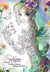 SAKUEMS 2 - Natural Enchantment 2018 - coloring book - Emilie Jarrige