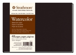 STRATHMORE Watercolor - Art Book (300 g/m2, 48 listů), 14 x 21,6 cm