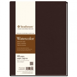 STRATHMORE Watercolor - Art Book (300 g/m2, 24 listů), 21,6 x 27,9 cm