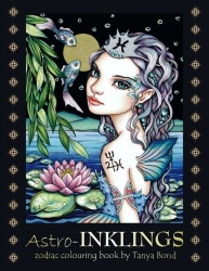 Astro-INKLINGS colouring book - Tanya Bond