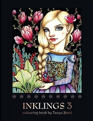 INKLINGS 3 colouring book - Tanya Bond