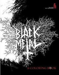 BLACK METAL - a coloring book